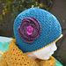 Flower hat for children pattern