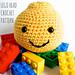 Lego Head Amigurumi pattern