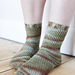 Fallen Leaves Socks pattern