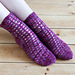 Mulled Wine Socks pattern