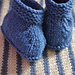 Chaussons Augustin pattern