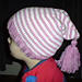Candy Cane stripy hat pattern