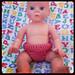 Doll Undies in Crochet pattern
