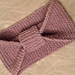 Garter stitch headband pattern