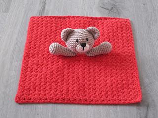 Vintage Crochet Teddy Bear Baby Blanket Pattern | Crochet teddy ... | 240x320