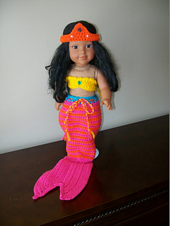 Monday's Child - Days of The Week Dolls Crochet Doll Clothes ...   320x240