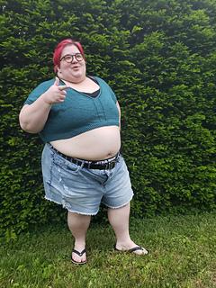 """72"""" garment on 62"""" chest, body length knit to 6.25"""" before upper body split."""