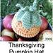 Thanksgiving Pumpkin Hat pattern