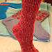 Rosebud Socks pattern