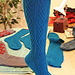 Wrought Iron Socks and Kneesocks pattern