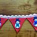 Snowman Christmas Bunting pattern