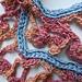 Rose Dangle Crochet Scarf pattern