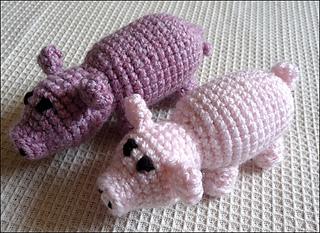 Amigurumi Crochet Three Little Pigs Playset Pattern Digital | Etsy | 233x320