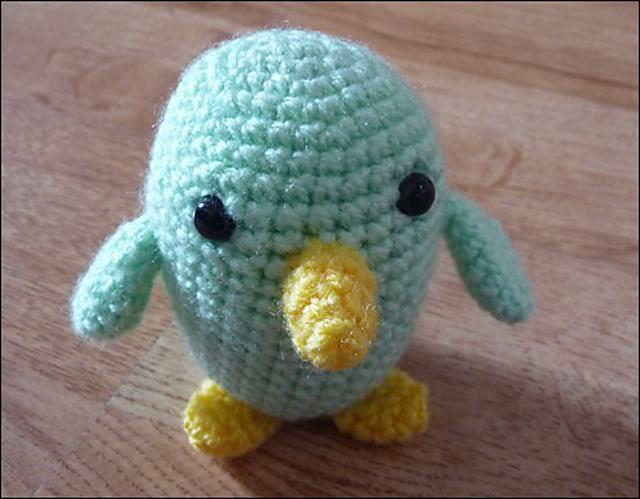 Bride and Groom Lovebirds amigurumi pattern | Crochet bird ... | 499x640