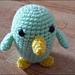 Chubby Bird amigurumi pattern