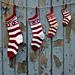 Festive Christmas Stockings pattern