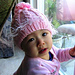 Pink Cabled Baby Hat pattern