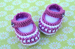 Baby Booties pattern by Christy Hills