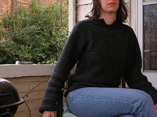 Not-so-cashmere sweater