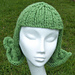 Flick Knitted Hat Wig, Fun Chemo Cap pattern