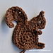 Squirrel Motif pattern