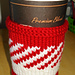 Baby it's cold outside cup cosy pattern
