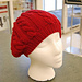 Cabled Beret pattern