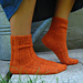 Roasted Carrot Socks pattern