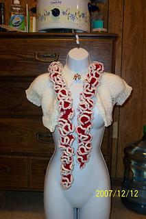 Ashley's b-day scarf