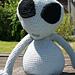 Pot Belly Baby Alien pattern