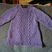 Irish Knit Baby Dress pattern