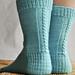 Les chaussettes de la schtroumpfette pattern