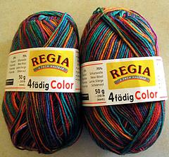 Regia Sockenwolle 100g 4-fädig Polar Night Color