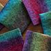 Rothko Felted Coasters pattern