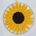 Sunflower Dreamcatcher Mandala pattern