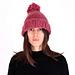 Chunky Pom Pom Beanie Hat pattern