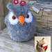 Felted Owl Valentine Pincushion pattern
