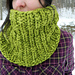 North Hollow Cowl pattern