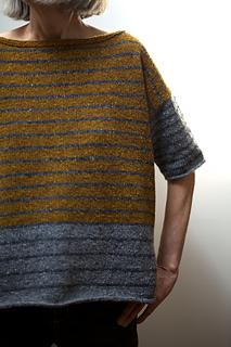 Tweedy--Stripey pattern by Leslie Weber