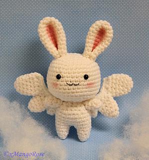 crochet angel wings pattern free applique | Free Crochet Angel ... | 320x299
