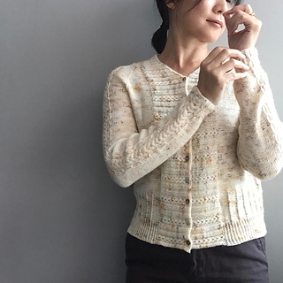 Bay Cardigan pattern by yamagara