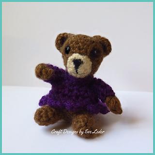 Ravelry: Amigurumi Teddy Bear pattern by Viktorija Dineikiene | 320x320