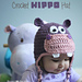 Hippo Hat pattern