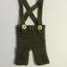 Newborn Pants with Suspenders pattern