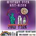 Halloween in Space Mystery Sock pattern