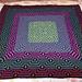 Raspberry Pi Mosaic Throw pattern