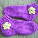 Easy Super Bulky Slipper Socks pattern