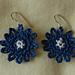 Bonny Blue Earrings pattern
