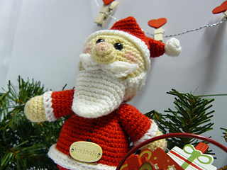 Amigurumi Natale.Ravelry Babbo Natale Amigurumi Pattern By Bicolino By Yessidaire Marquina