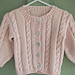 #22 Cable Sweaters- child's cardigan & pullover pattern